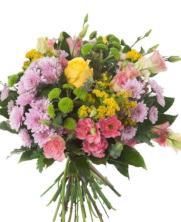 Ramo de flor variada multicolor