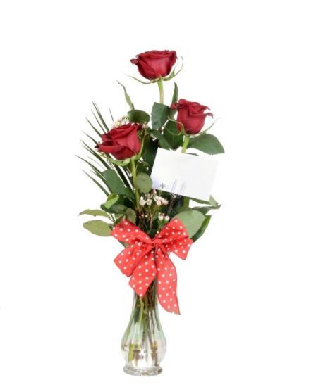 Ramos de tres rosas