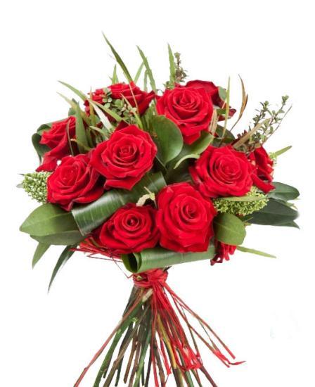 Ramos de doce rosas